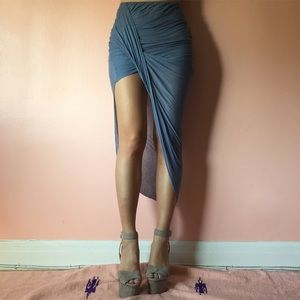 Zara Asymmetrical Draped Skirt